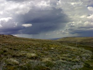 summer storm, Mt Nelse, Bogong High Plains