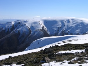 the southern face of Bogong, looking across Cairn Gully
