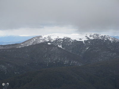Stirling from Mt Buller, late spring 2009