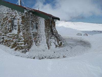 Seaman's hut, near Etheridge Ridge