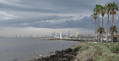 Melbourne & the Bay, from just south of Elwood